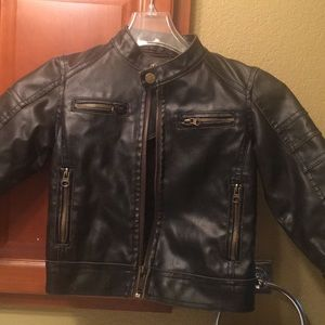"Other - Brown distressed leather jacket... ""Top Gun"""